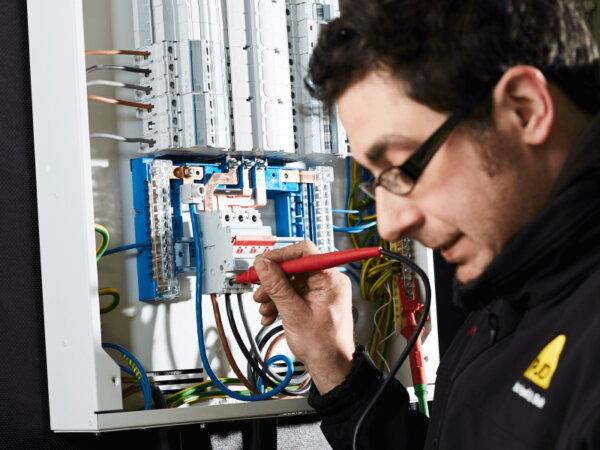 Electrician Testing Burstwick Yorkshire
